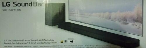LG SK9Y Dolby Atmos 5.1.2 Soundbar 500W Drahtlosem Subwoofer schwarz (B8129)