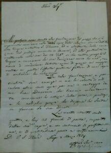 1834-LETTERA-SU-SANTA-FILOMENA-VESCOVO-DI-NEPI-SUTRI-ANSELMO-BASILICI-DA-ORVINIO