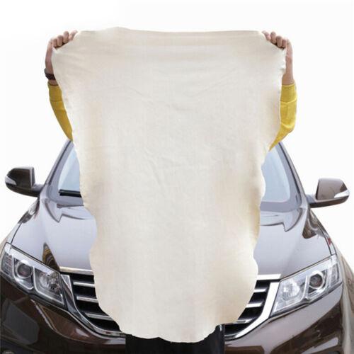 Chamois Leder Auto Reinigung Tücher Waschen Wildleder Absorbent Handtuch Gut Gv