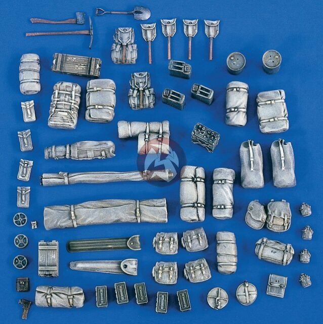Verlinden 1/35 M3 Half-track Stowage and Accessories Set (for Tamiya kit) 1856