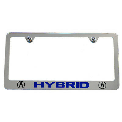 Acura Hybrid Chrome License Plate Frame High End Usa