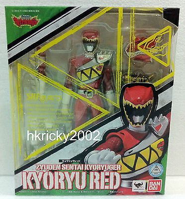 Bandai S.H Figuarts Power Rangers Dino Charge Kyoryuger Kyoryu Red Figure
