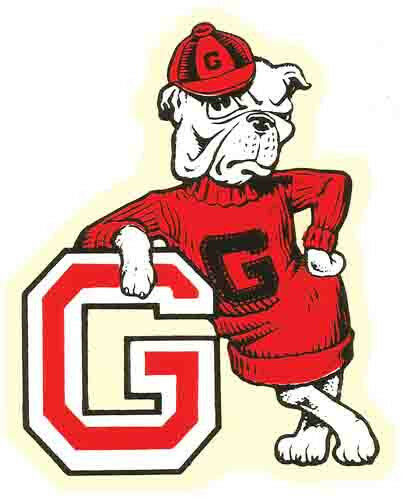 425f6ba09315bc University of Georgia UGA College Vintage Looking Travel Decal Sticker for  sale online
