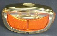 Fahrradlicht Mit 3 Led´s & Reflektoren Für Hinten, Fahrrad - Rücklicht