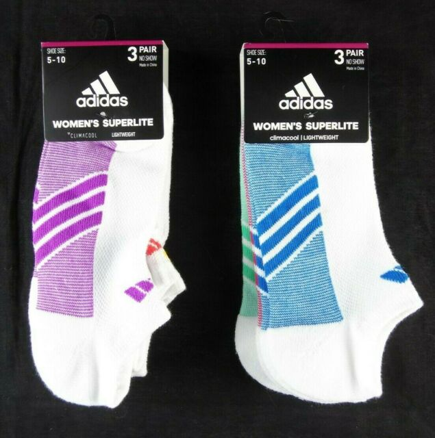 adidas Women's Cushioned No Show Socks