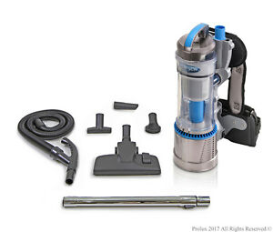 Demo Model Prolux 2.0 Cordless Bagless Backpack Vacuum with Lithium Ion Battery