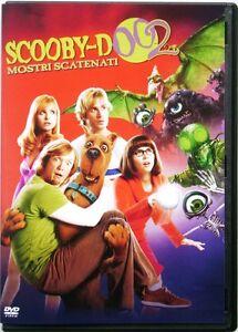 Dvd-Scooby-Doo-2-Monstruos-roca-hacia-fuera-con-Sarah-Michelle-Gellar-2004-Usado