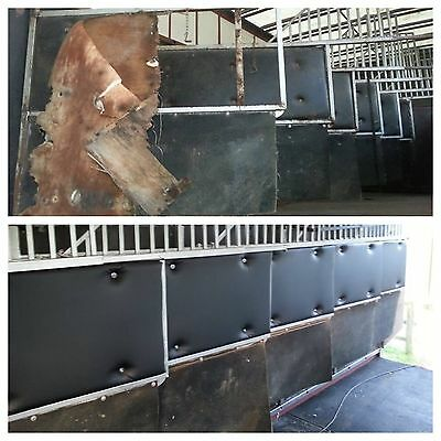 The original trusted Horsebox/Trailer Partition Pads Padding NEW Made to Measure