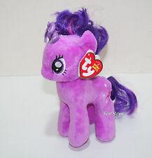 "My little Pony Twilight Sparkle TY Beanie Babies Bean Bag  7"" Stuffed Animal Toy"