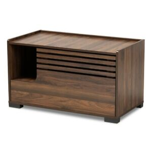Cat-Litter-Box-Cover-Cat-House-Side-Table-Furniture-Brown-Rectangle-Storage