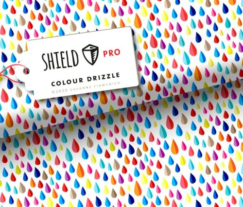 Shield Pro Albstoffe Hamburger Liebe Colour Drizzle antimikrobiell Maskenstoff .