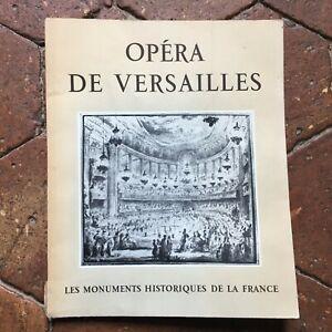 Opera Di Versailles I Monumenti Storici Della Francia Notiziario N°1 1957