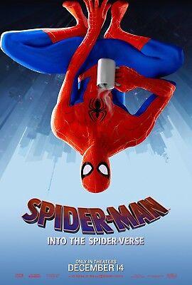 "Spider Man Into The Spider Verse Movie Poster Japanese Film Print 24x36/"" 27x40/"""