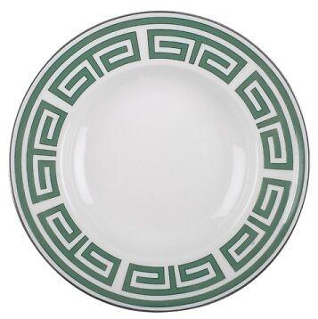 Labirinto Smeraldo, Piatto Fondo 24,5 cm, Porcellana, Richard Ginori