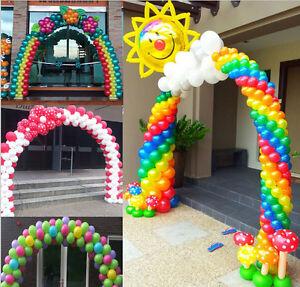 1 set balloon arch column base water balloon arch kit for Balloon arch frame kit party balloons decoration