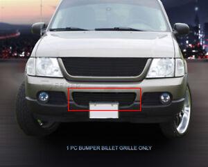 Fedar Lower Bumper Billet Grille For 2002-2005 Ford Explorer - Black 815122026520