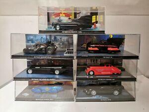Batman-Del-Automovil-Coche-Coleccion-vehiculos-Coleccionistas-Coches-EAGLEMOSS-Modelos