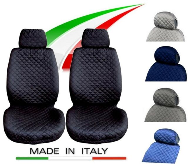 Lupex Shop N.GC Coprisedili Peugeot 108 Bicolore Nero Grigio Chiaro