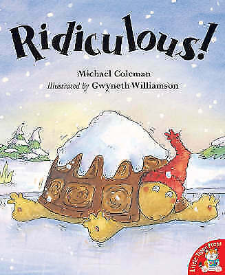 """""""AS NEW"""" Coleman, Michael, Ridiculous!, Paperback Book"""