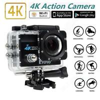Eyoyo 2.0 Lcd Wifi 4k Ultra Sj9000 Sport Action Camera Hd 1080p Dvr Waterproof