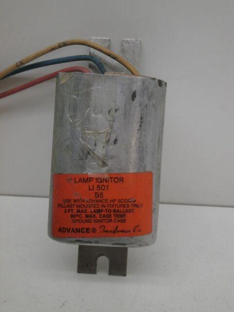Advance LI501 B5 High Pressure Sodium Lamp Starter Ignitor