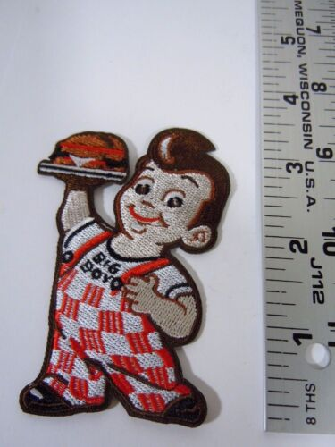 """Big Boy Embroidered  Iron-On Patch 3.25/"""""""