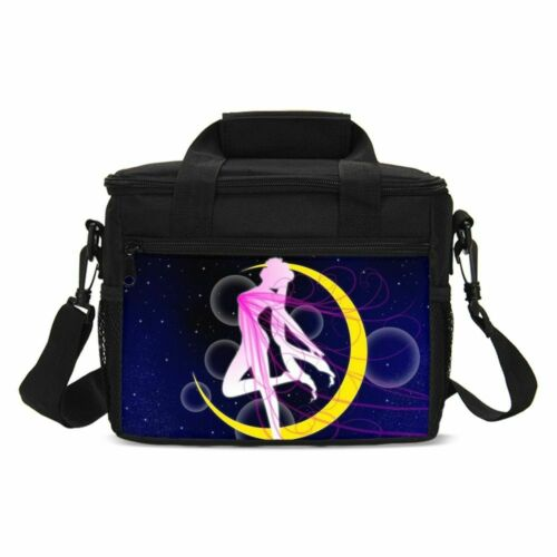 S//4 Sailor Moon Kids Schoolbag Girls Backpack Insulated Lunch Bag Pencil Bag Lot