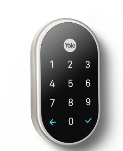Details about  /Nest Smart Lock X YALE Satin Nickel with Connect New
