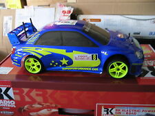AUTOMODELLO RC SCOCCA CARROZZERIA ON ROAD 1/10 1:10 SUBARU IMPREZA