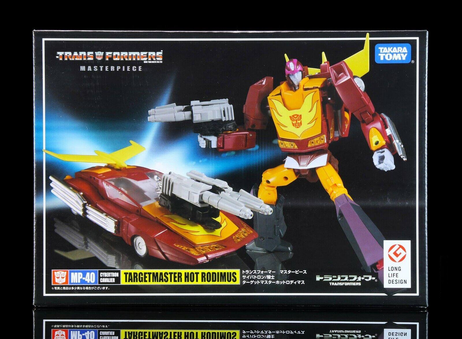 ordenar ahora Transformers Masterpiece MP40 Hotrod Hot Rodimus Targetmaster Nuevo Nuevo Nuevo  deportes calientes