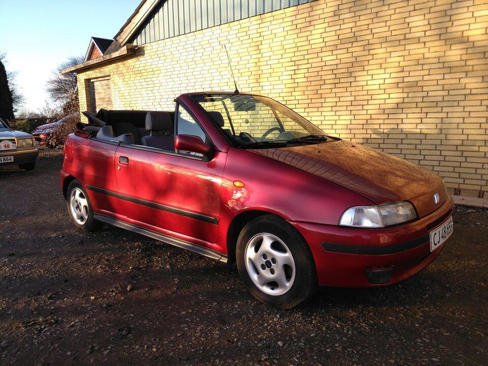 Fiat Punto, 1,6 ELX Cabriolet, Benzin
