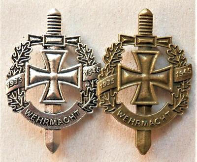 GERMAN WEHRMACHT NEW PATCH WW2 IRON CROSS BADGE ARMY THIRD REICH