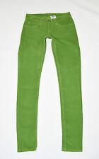 "Green Organic Cotton MONKEE GENES Slim Skinny Long Trousers Jeans Size W28"" L31"""