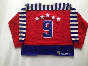 new arrival 04aab fd057 Details about Gordie Howe Signed Jersey - 1948 Michell and Ness All Star  Red Wings - COA