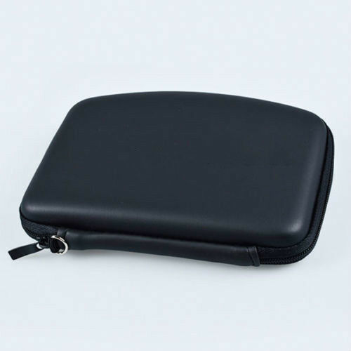 Fashion Hard Shell GPS Carry Case Bag Zipper Pouch Cover For 5Inch Sat Nav new.
