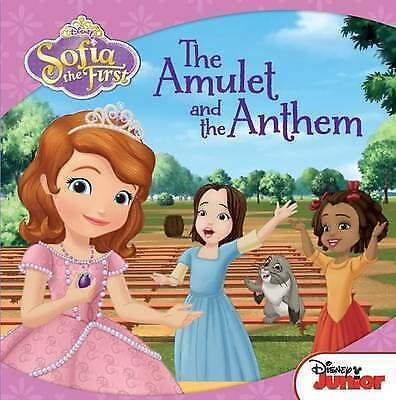"1 of 1 - ""AS NEW"" Disney Carry-Along Story Books Sofia the First: the Amulet and the Anth"