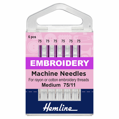 Klasse Embroidery Needles Size 75//11