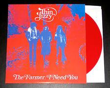 THIN LIZZY The Farmer RED VINYL 1st single 1990 Reissue Rare Phil Lynott NEW