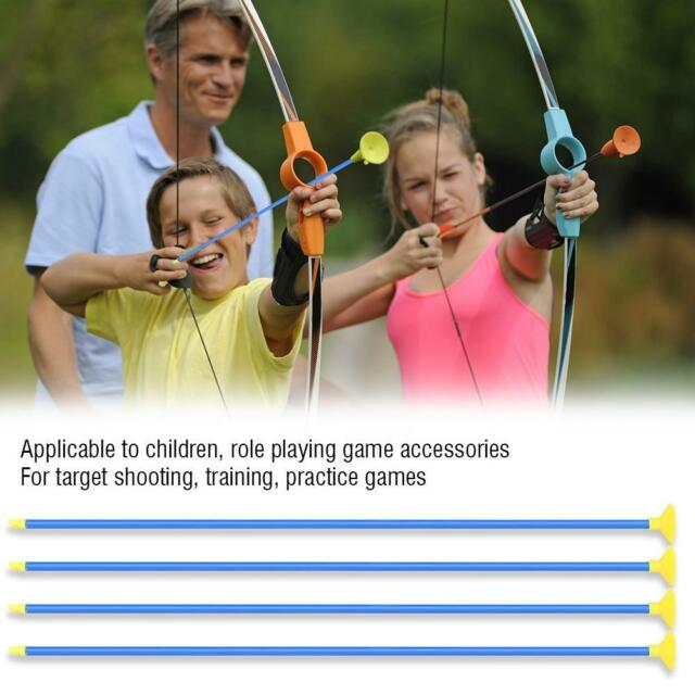 Archery Outdoor Sports Equipment Model Hunt Children Recurve Bow+Arrow Blue