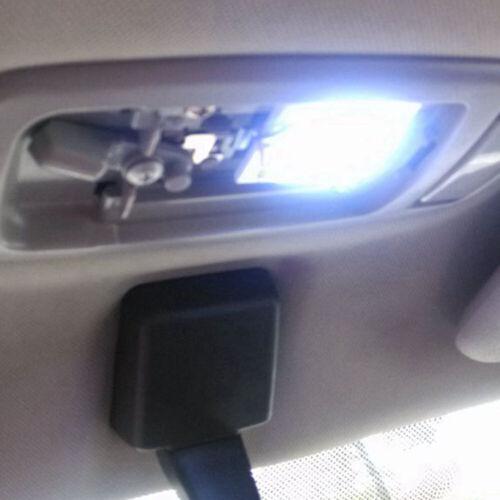 1Piece White 48 SMD COB LED T10 4W 12V Car Interior Panel Light Dome Lamp Bulb