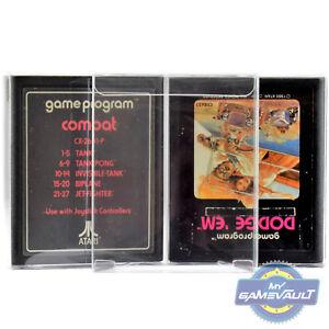 10-x-Cartridge-Protector-Box-for-Atari-2600-Game-Cart-0-4mm-Plastic-Display-Case