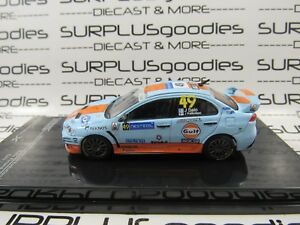 Tarmac-Works-1-64-LOOSE-MITSUBISHI-LANCER-EVOLUTION-X-Rally-Finland-2010-GULF
