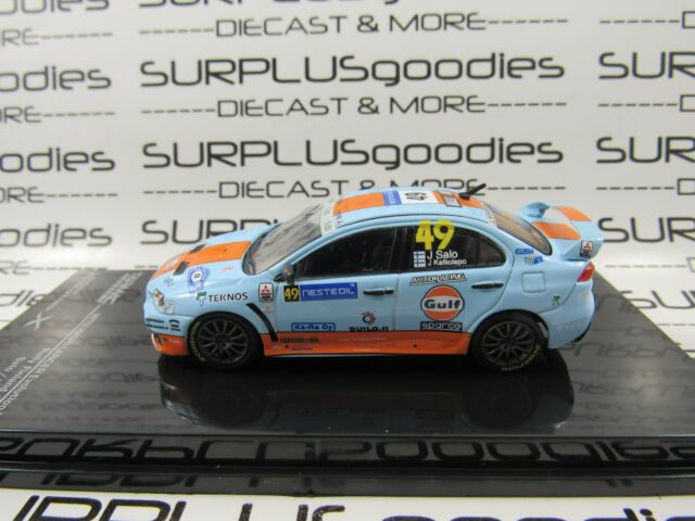 Tarmac Works 1:64 LOOSE MITSUBISHI LANCER EVOLUTION X Rally Finland 2010 GULF