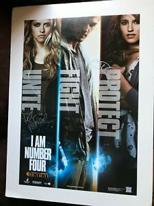 I Am Number Four Cinema Poster Teresa Palmer, Alex ...