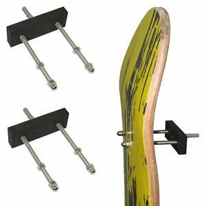 Skateboard Floating Deck Display Wall Mount Rack Holder Hanger-6//PK