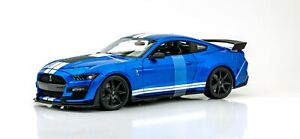 2020-Ford-Mustang-Shelby-GT500-Azul-Coche-1-18-Modelo-Maisto-Special-Edition-New