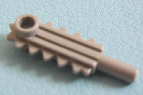 LEGO 6117 @@ Minifig Utensil Chainsaw Blade Light Grey 4980 6494 6577 7171