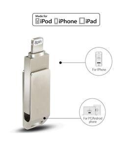 Flash-Drive-Per-iPhone-5-5s-6-6s7-7s-IOS-USB-16-Gb-Chiavetta-LIGHTNING-8-pin-MFI