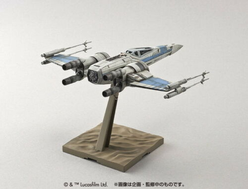 Star Wars X-Wing Fighter For Resistance 1//72 Scale Bandai Force Awakens Japan