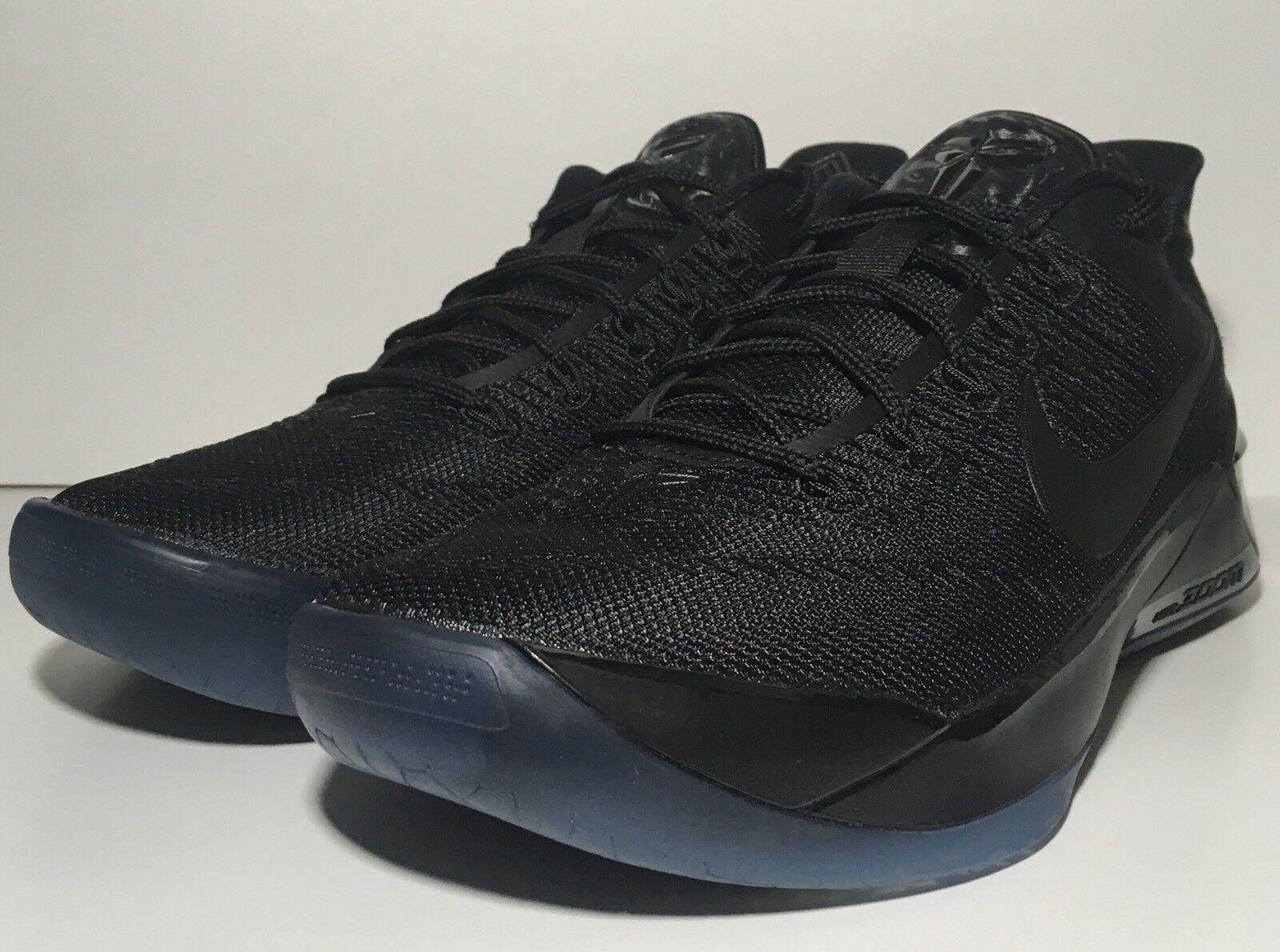 "ad351a7cbd SZ.8 Nike Kobe A.D. 852425-064 ""Black Mamba"" TripleBlack TripleBlack  TripleBlack"